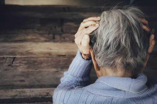 הפרעת חרדה בזקנה