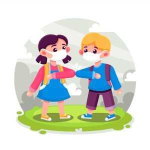 ריחוק חברתי אצל ילדים