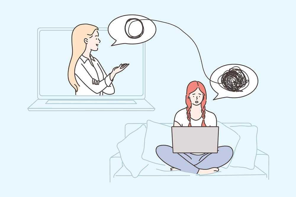 טיפול פסיכולוגי אונליין